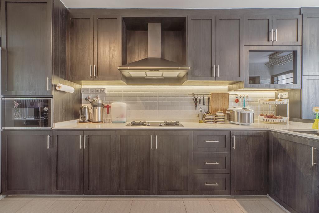 Modern, HDB, Kitchen, Bedok Reservoir Road, Interior Designer, Design 4 Space, Eclectic