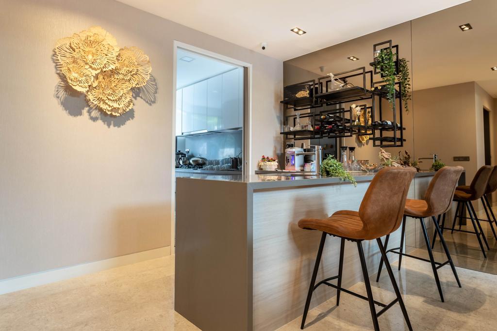 Modern, Landed, Dining Room, Nim Rise, Interior Designer, Design 4 Space, Contemporary