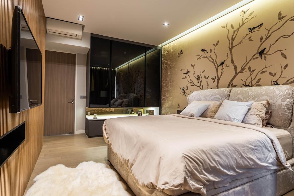 Modern, Landed, Bedroom, Nim Rise, Interior Designer, Design 4 Space, Contemporary