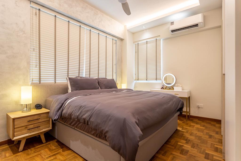 Scandinavian, Condo, Bedroom, Hillview 128, Interior Designer, Design 4 Space