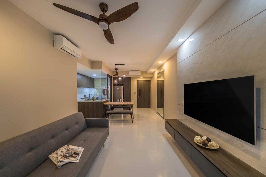 North Park Residences Living Room Interior Design 4