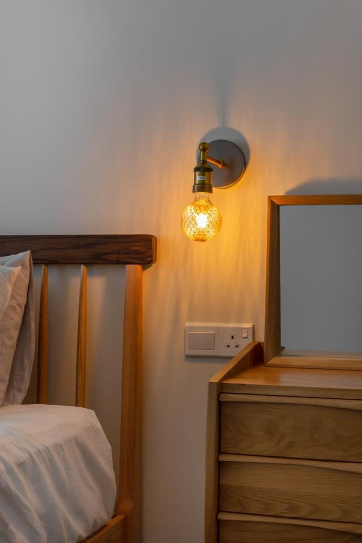 Industrial, HDB, Bedroom, Circuit Road, Interior Designer, Swiss Interior Design, Modern