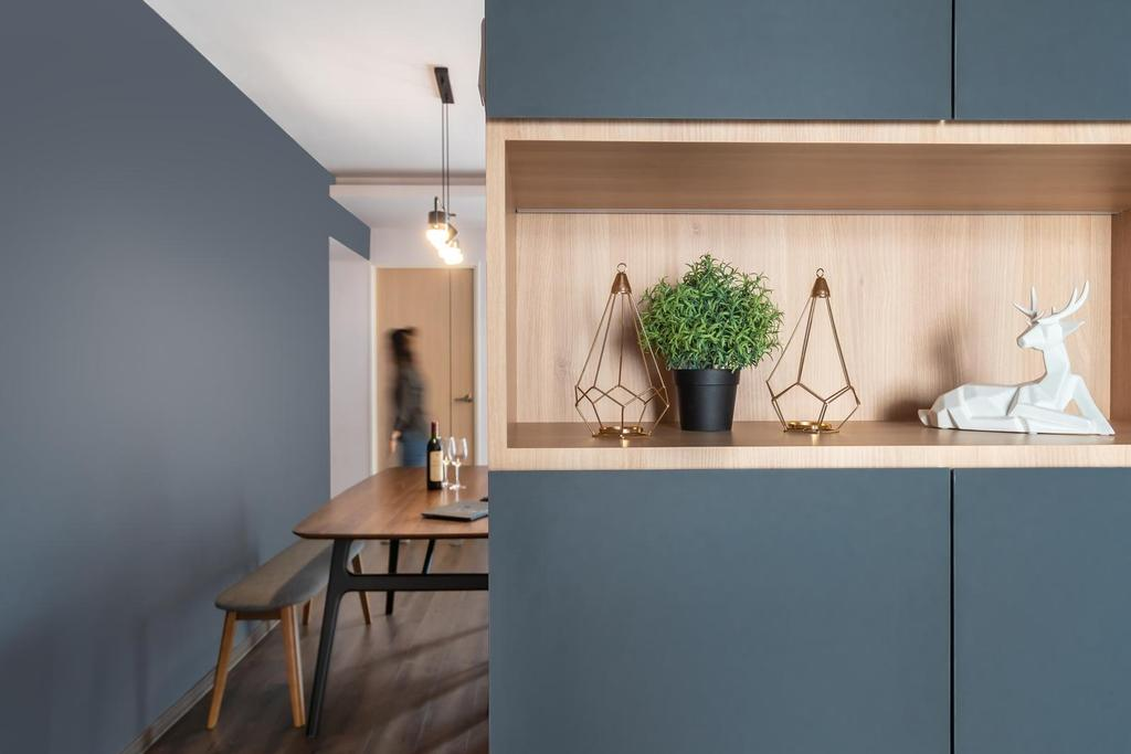Industrial, HDB, Dining Room, Anchorvale Drive, Interior Designer, Swiss Interior Design, Scandinavian