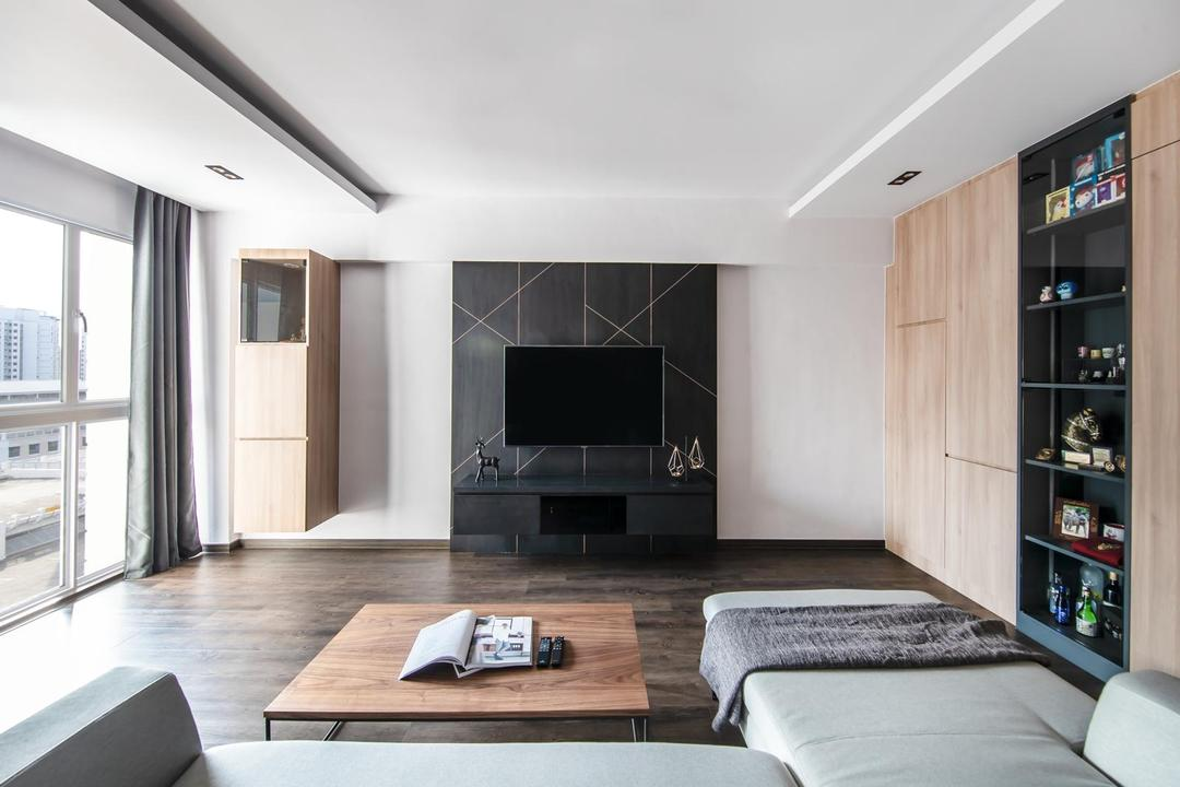 Anchorvale Drive Living Room Interior Design 10