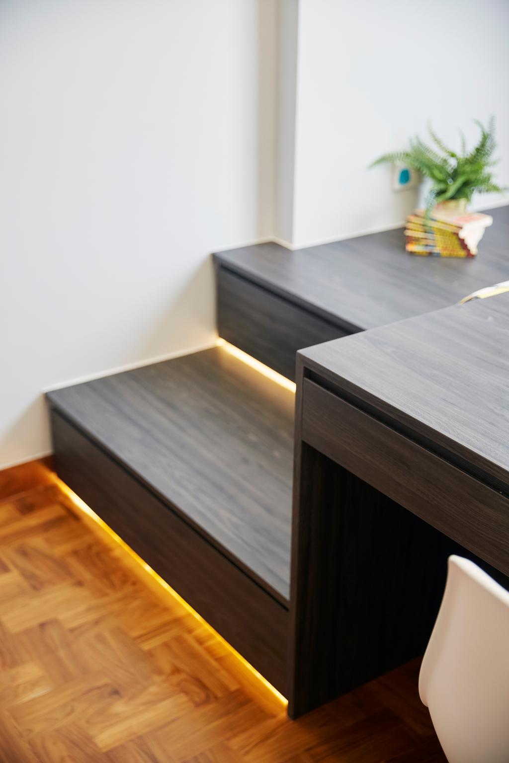 Modern, Condo, La Casa, Interior Designer, SHE Interior, Contemporary