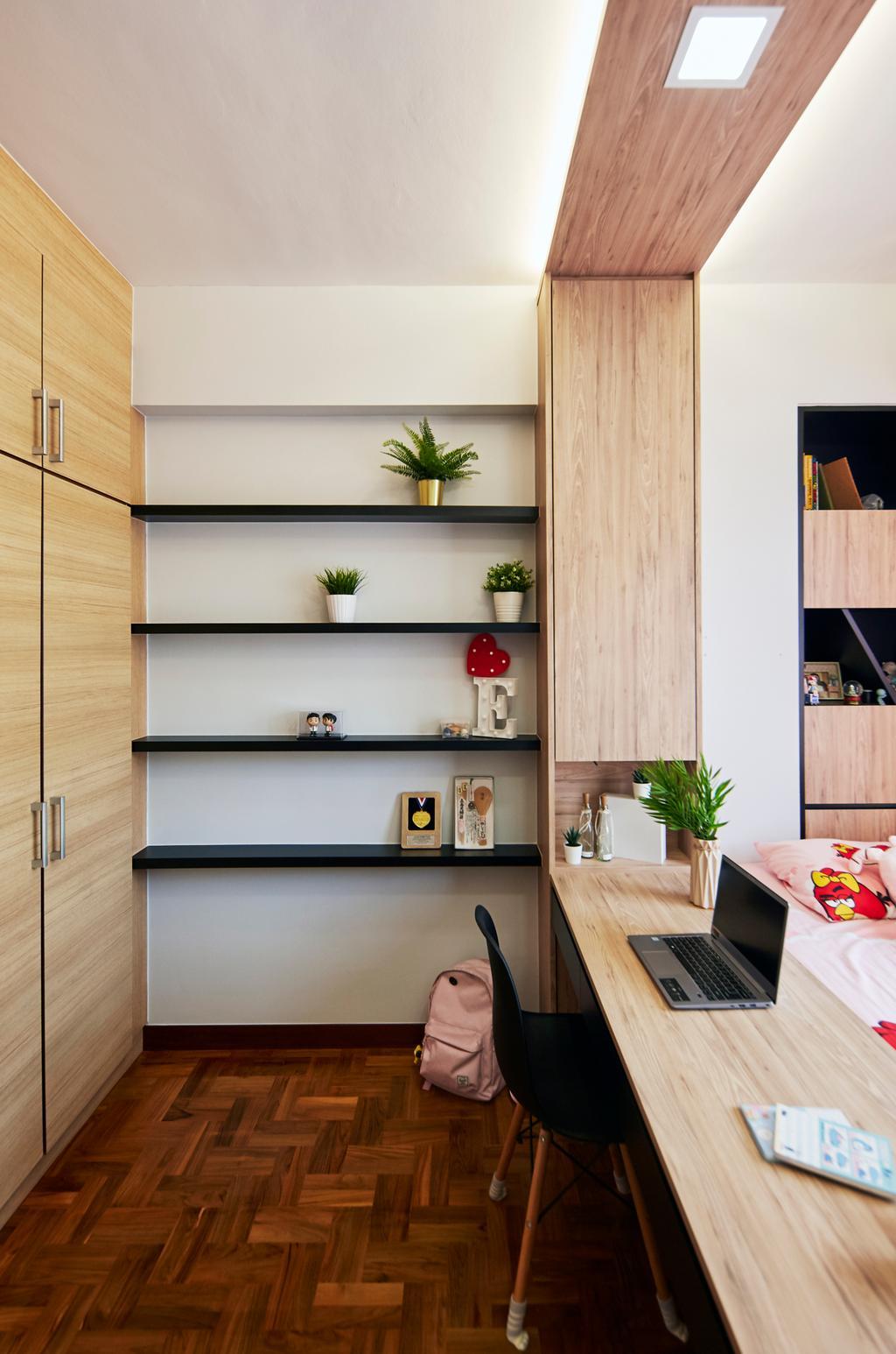 Modern, Condo, Study, La Casa, Interior Designer, SHE Interior, Contemporary