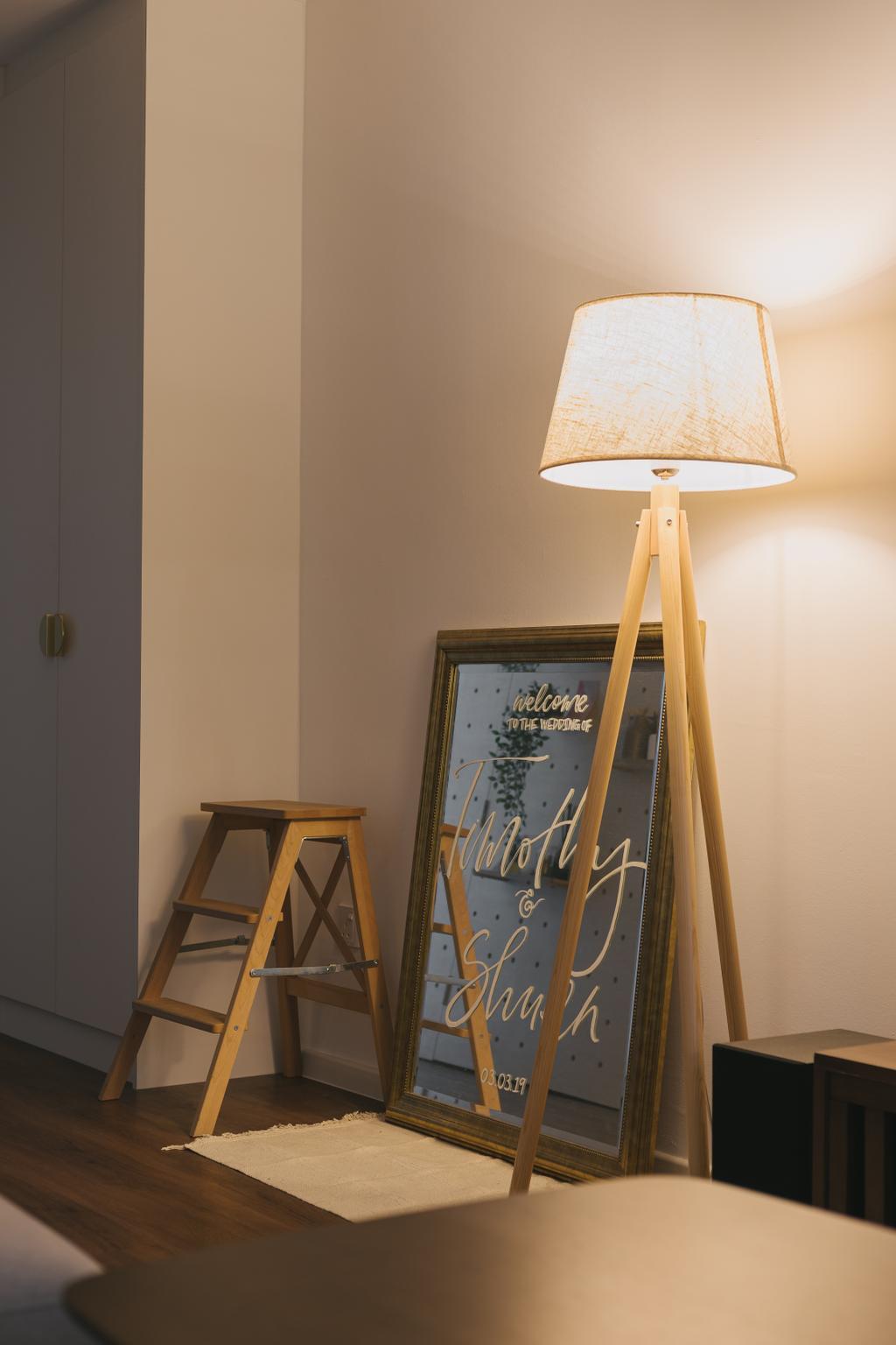 Scandinavian, HDB, Living Room, Jelebu Road, Interior Designer, Project Guru