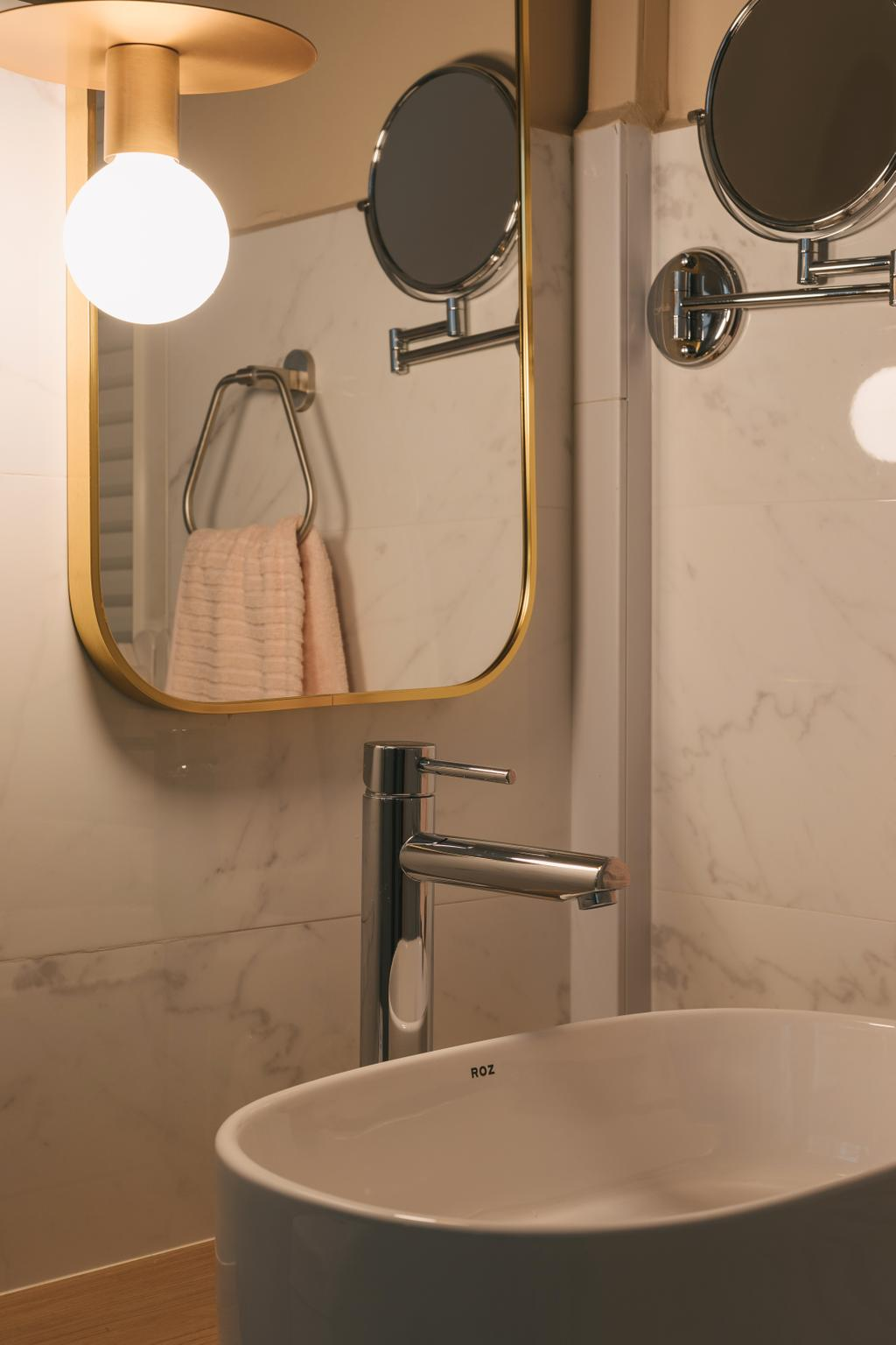 Scandinavian, HDB, Bathroom, Jelebu Road, Interior Designer, Project Guru