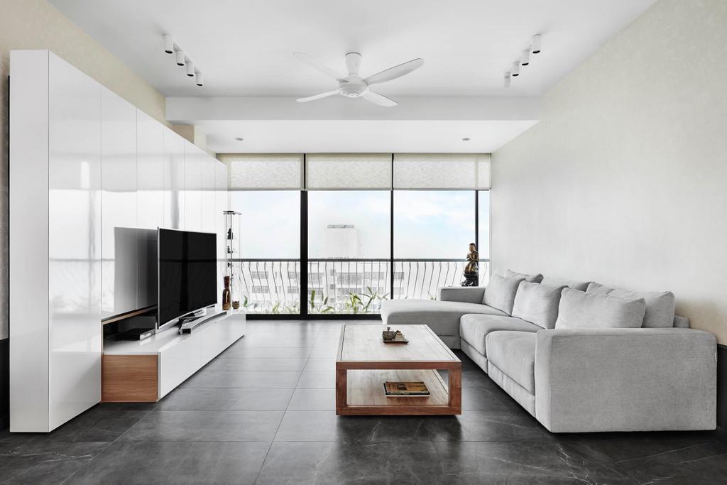Contemporary, Condo, Living Room, Chuan Park, Interior Designer, akiHAUS