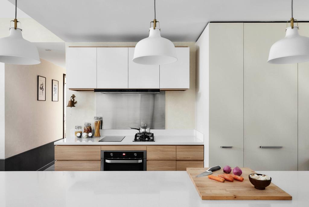 Contemporary, Condo, Kitchen, Chuan Park, Interior Designer, akiHAUS