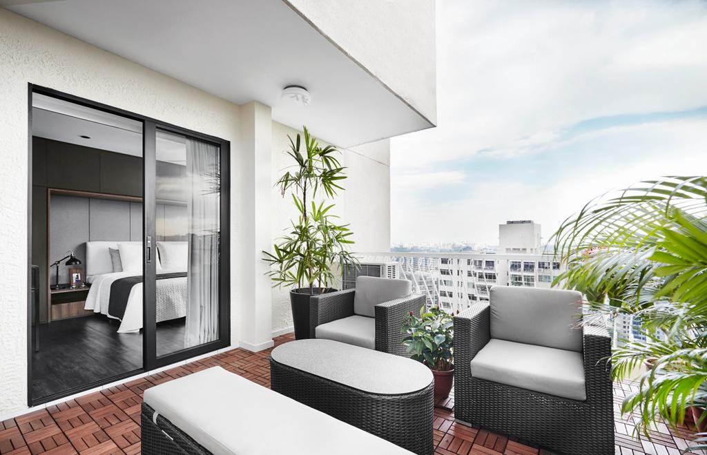 Contemporary, Condo, Balcony, Chuan Park, Interior Designer, akiHAUS