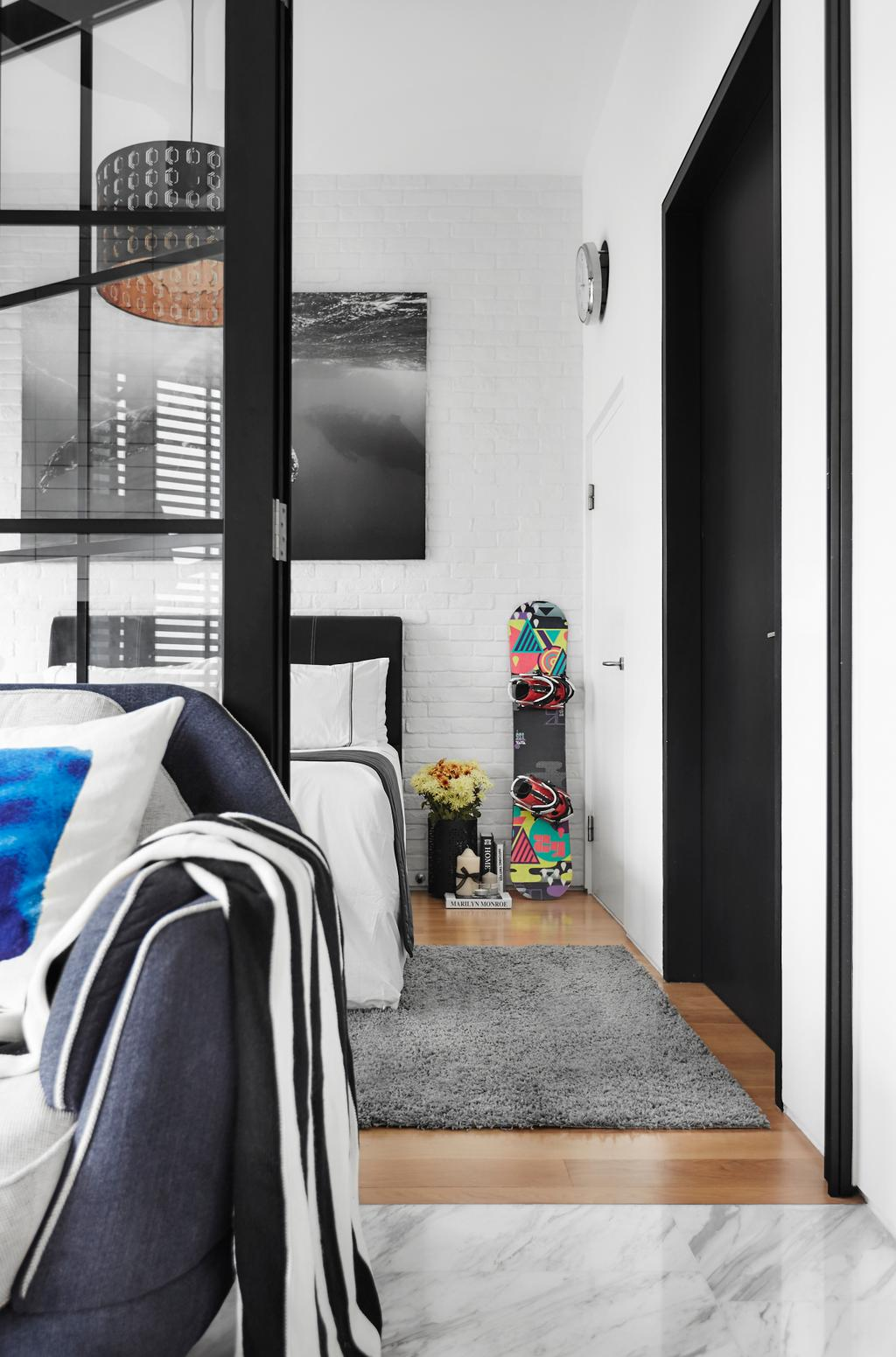Contemporary, Condo, Living Room, The Sorrento, Interior Designer, akiHAUS