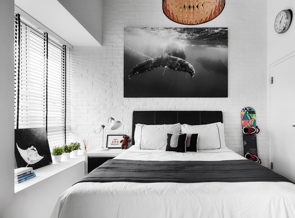 Contemporary, Condo, Bedroom, The Sorrento, Interior Designer, akiHAUS