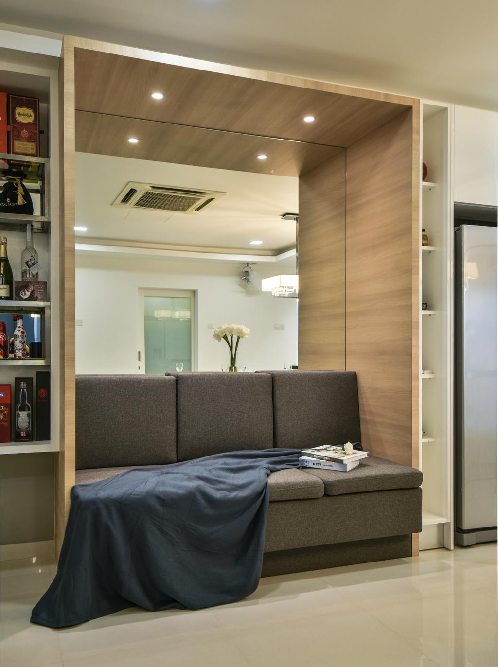 Modern, Landed, Setia Damai, Setia Alam, Interior Designer, Cube Creation Sdn. Bhd., Contemporary