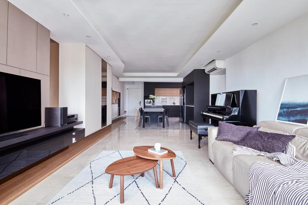 Scandinavian, HDB, Living Room, Tah Ching Road, Interior Designer, Free Space Intent, Contemporary