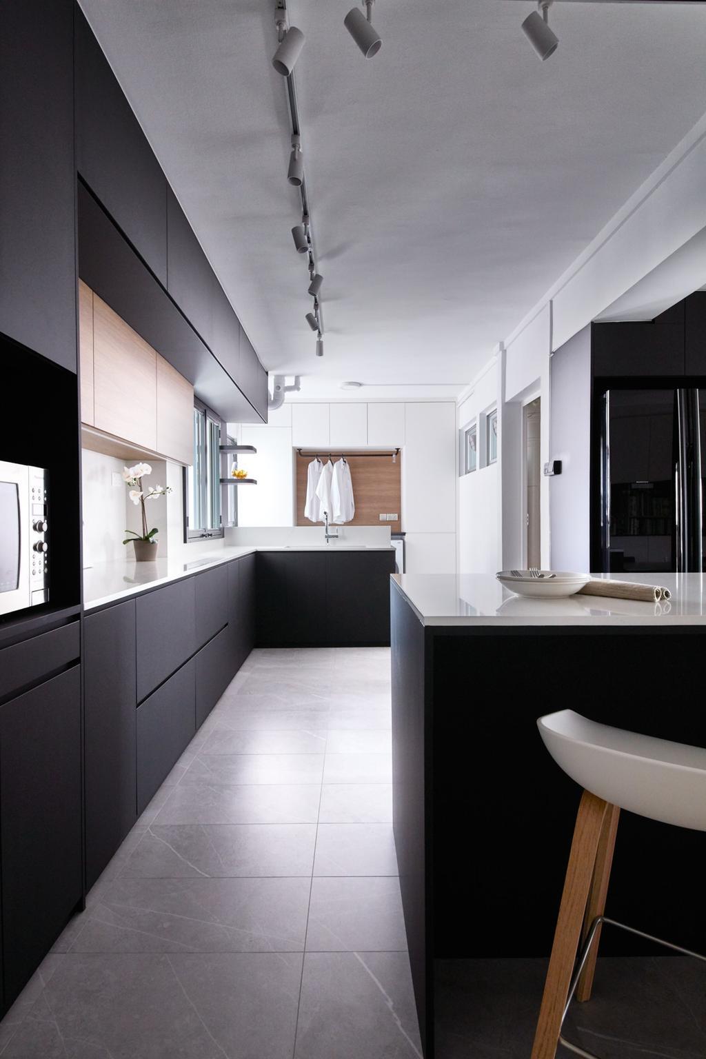 Scandinavian, HDB, Kitchen, Tah Ching Road, Interior Designer, Free Space Intent, Contemporary