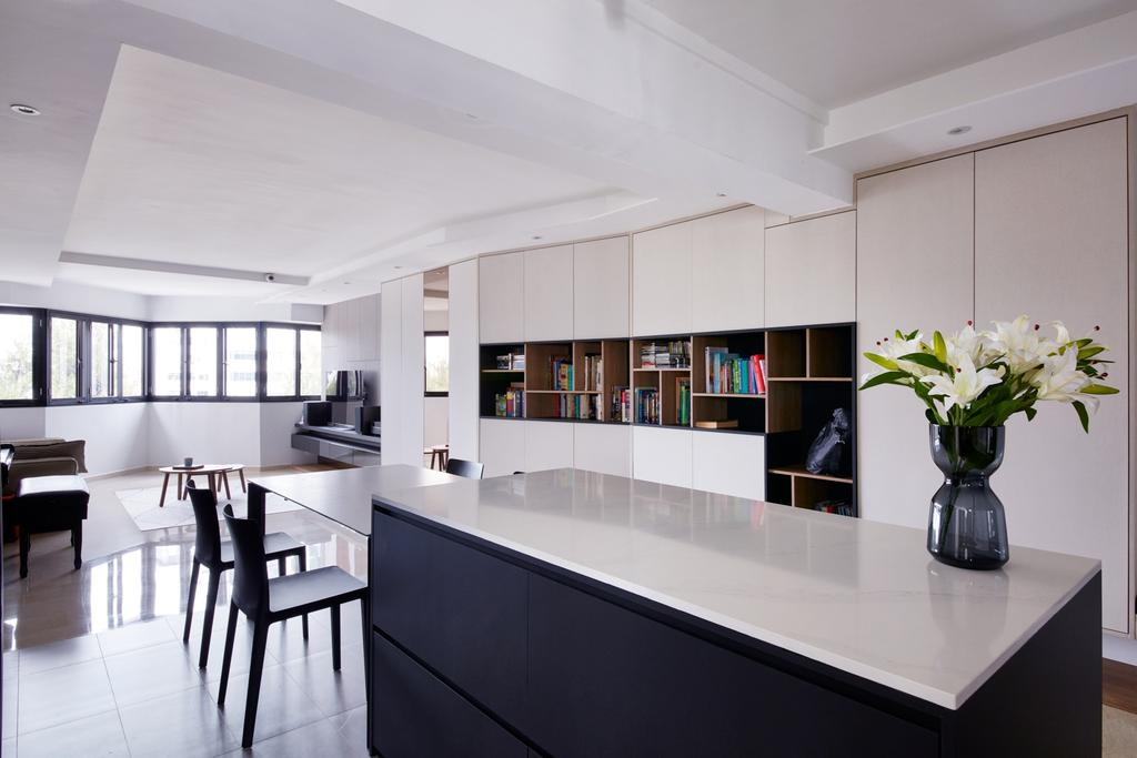 Scandinavian, HDB, Kitchen, Tah Ching Road, Interior Designer, Free Space Intent, Contemporary