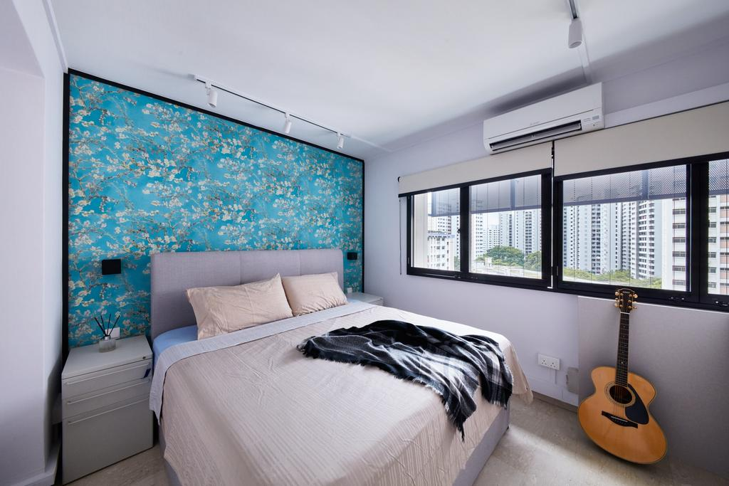 Scandinavian, HDB, Bedroom, Tah Ching Road, Interior Designer, Free Space Intent, Contemporary