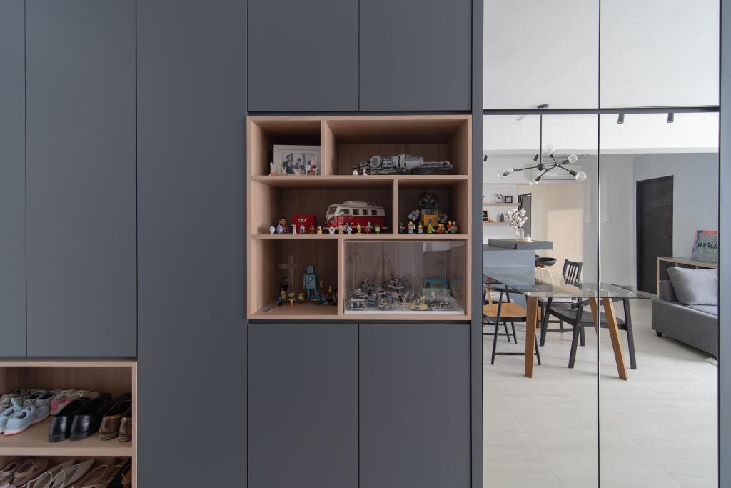 Industrial, HDB, Living Room, Cassia Crescent, Interior Designer, Arche Interior, Scandinavian
