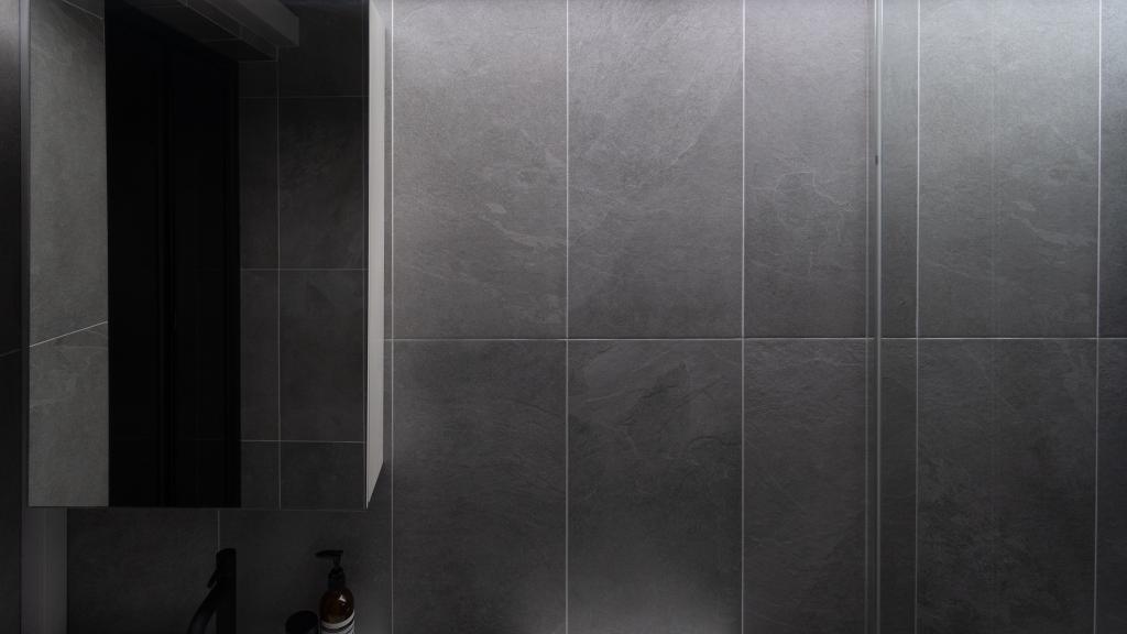 Industrial, HDB, Bathroom, Cassia Crescent, Interior Designer, Arche Interior, Scandinavian