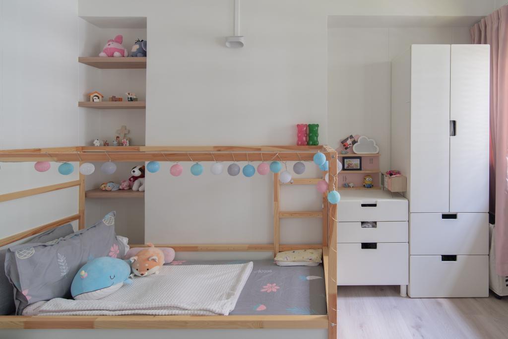 Industrial, HDB, Bedroom, Cassia Crescent, Interior Designer, Arche Interior, Scandinavian
