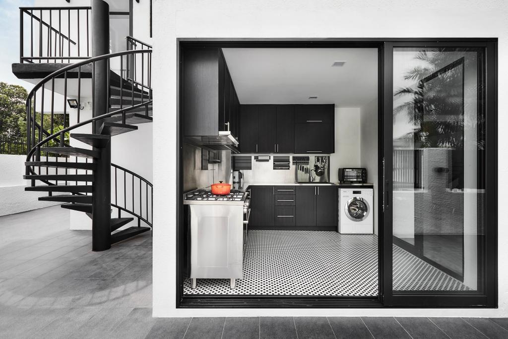 Contemporary, Landed, Kitchen, Sennett Avenue, Interior Designer, Third Avenue Studio, Transitional