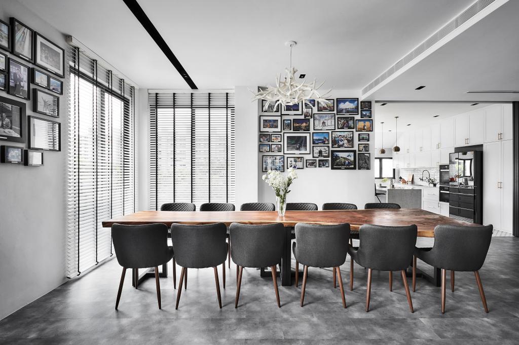 Contemporary, Landed, Dining Room, Sennett Avenue, Interior Designer, Third Avenue Studio, Transitional