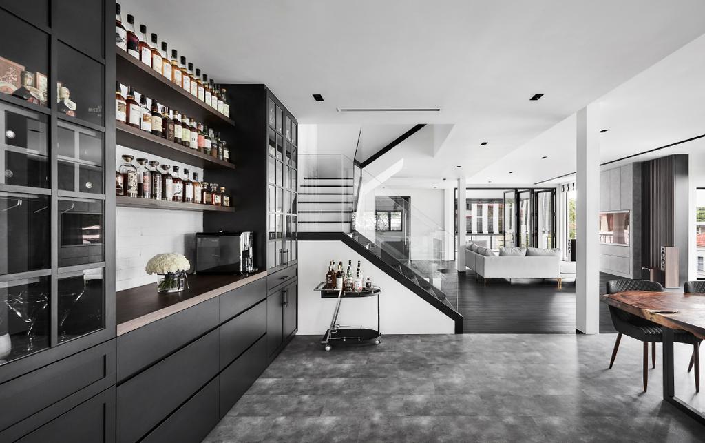 Contemporary, Landed, Living Room, Sennett Avenue, Interior Designer, Third Avenue Studio, Transitional