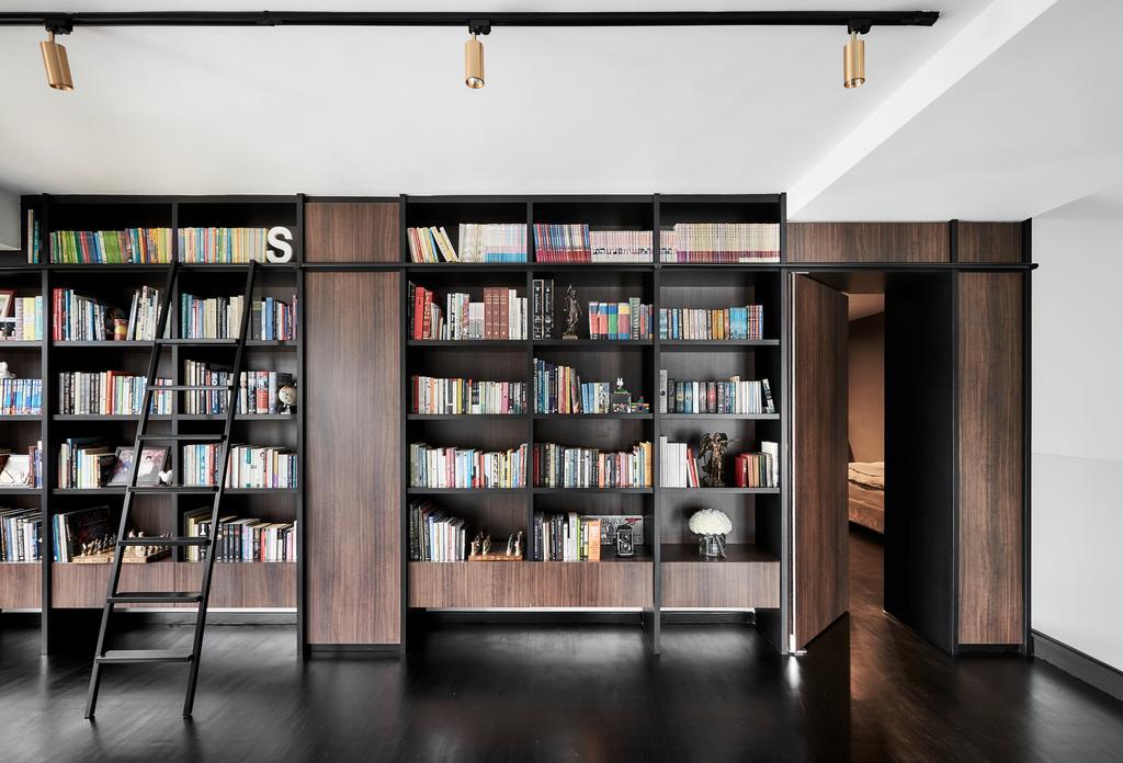 Contemporary, Landed, Study, Sennett Avenue, Interior Designer, Third Avenue Studio, Transitional