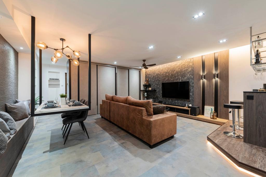 Modern, HDB, Dining Room, Choa Chu Kang Crescent, Interior Designer, Fifth Avenue Interior, Contemporary