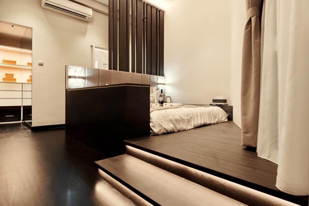 Contemporary, Condo, Bedroom, Avalon, Interior Designer, Mr Shopper Studio, Platform Bed, Platform
