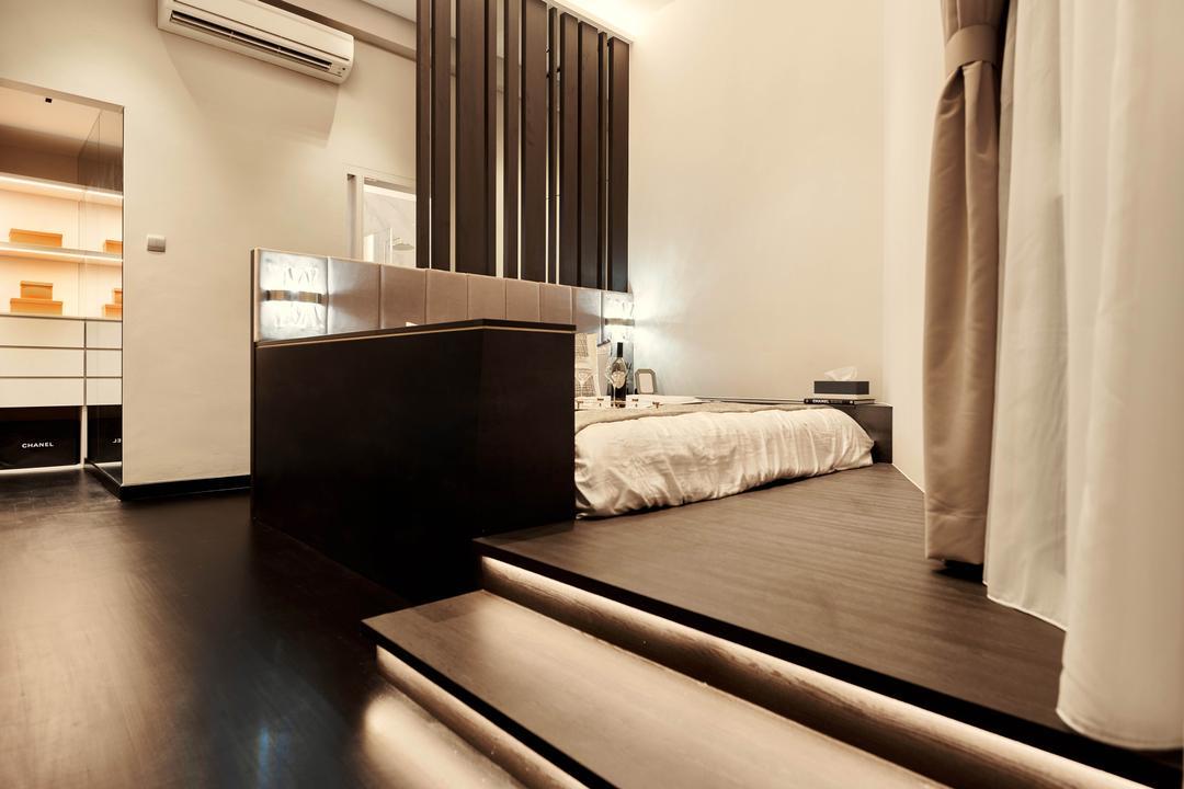Avalon, Mr Shopper Studio, Contemporary, Bedroom, Condo, Platform Bed, Platform