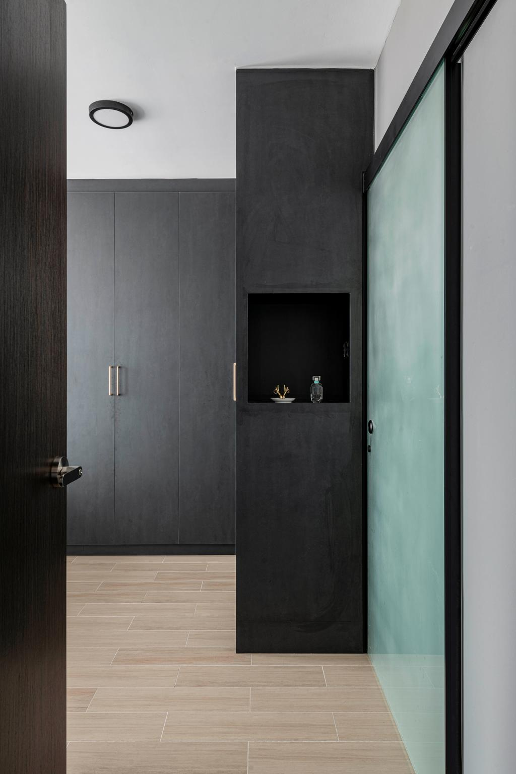 Contemporary, HDB, Bedroom, Bidadari Park Drive, Interior Designer, Regiis Design