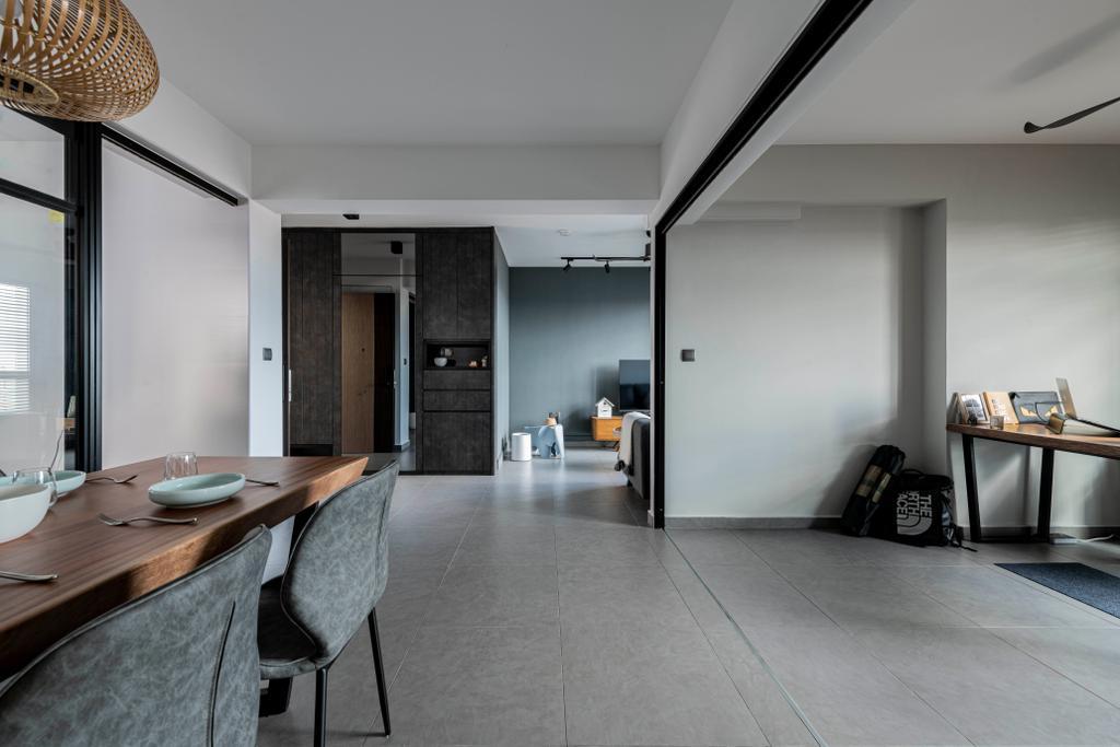 Contemporary, HDB, Living Room, Bidadari Park Drive, Interior Designer, Regiis Design