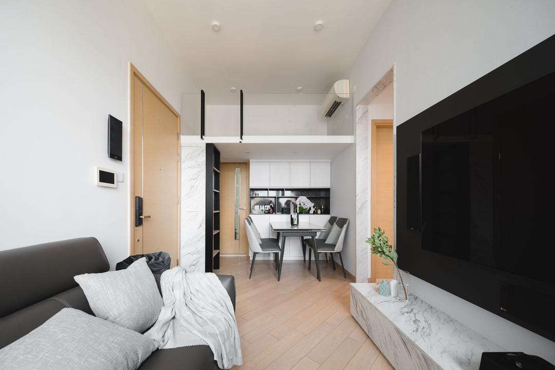 爾巒 Living Room Interior Design 13
