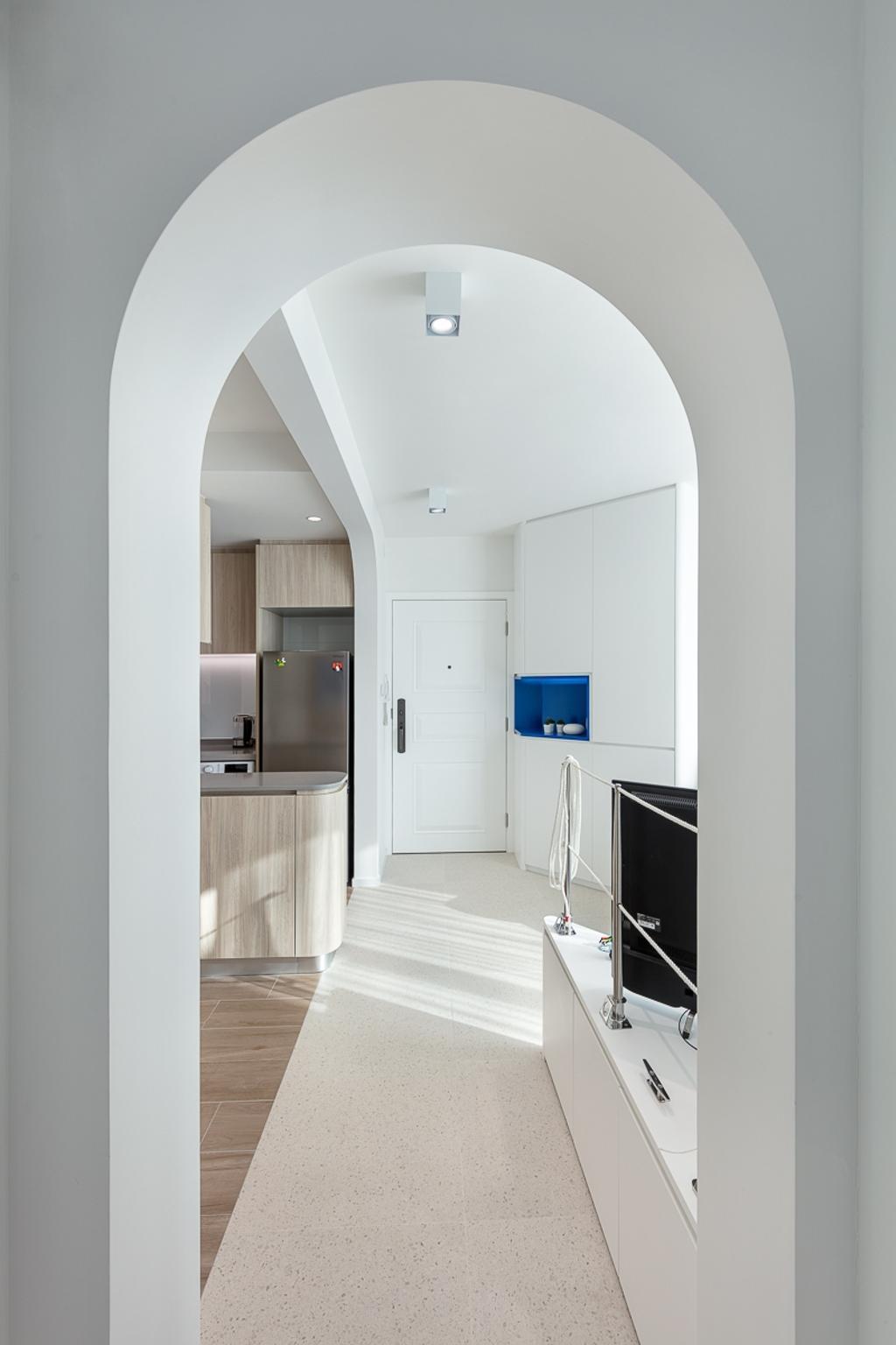 隨性, 私家樓, 客廳, 碧湖花園, 室內設計師, am PLUS