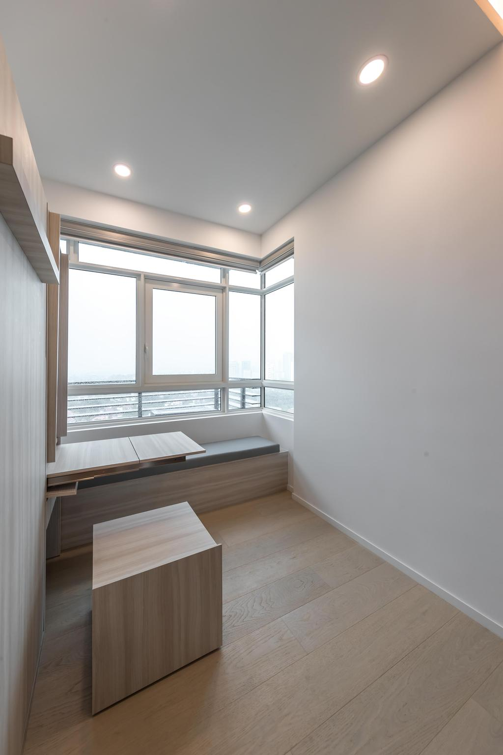 Minimalistic, Condo, Bedroom, Principal Garden, Interior Designer, Swiss Interior Design