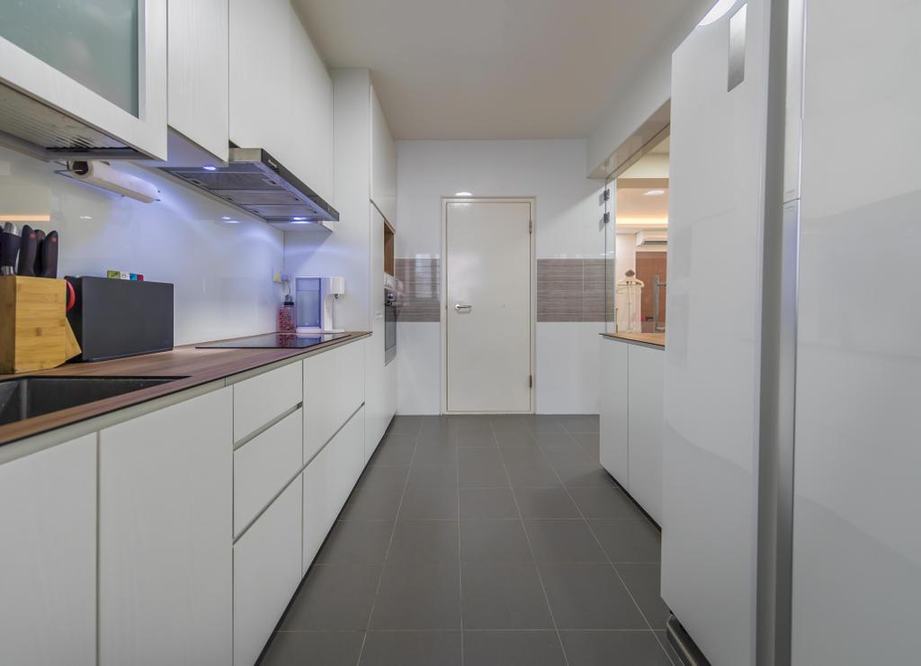HDB, Kitchen, Anchorvale Crescent, Interior Designer, Swiss Interior Design