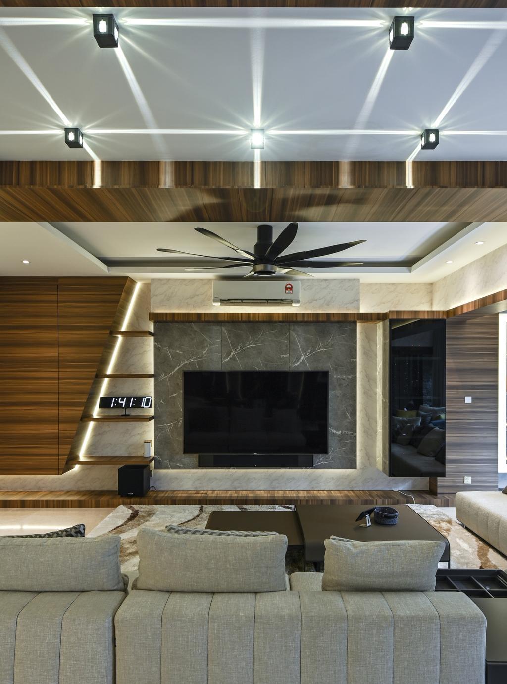 Modern, Condo, Seni, Mont Kiara, Interior Designer, Design Aid Sdn. Bhd., Contemporary