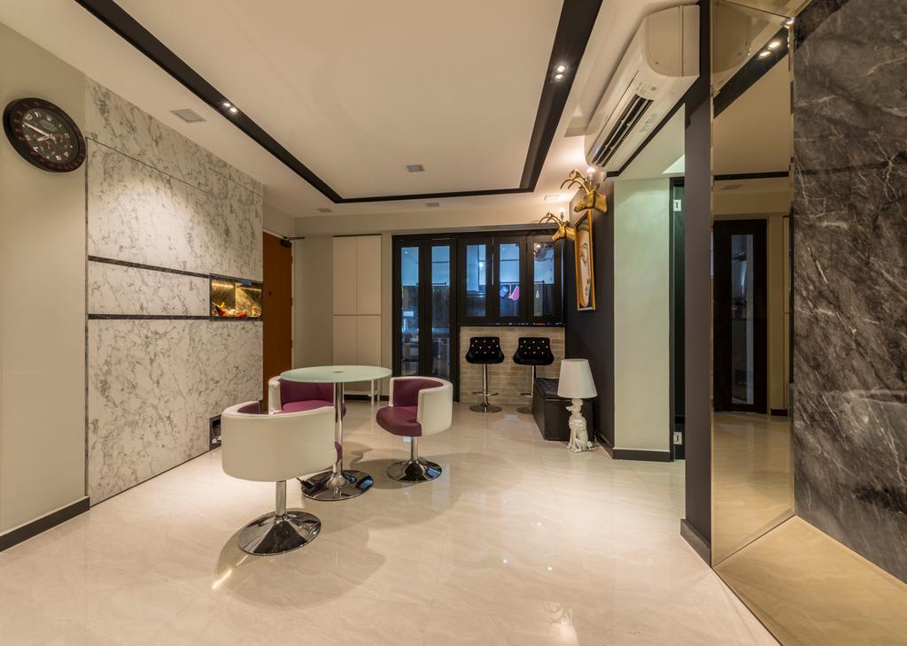 Contemporary, HDB, Dining Room, Upper Serangoon Road, Interior Designer, Third Paragraph