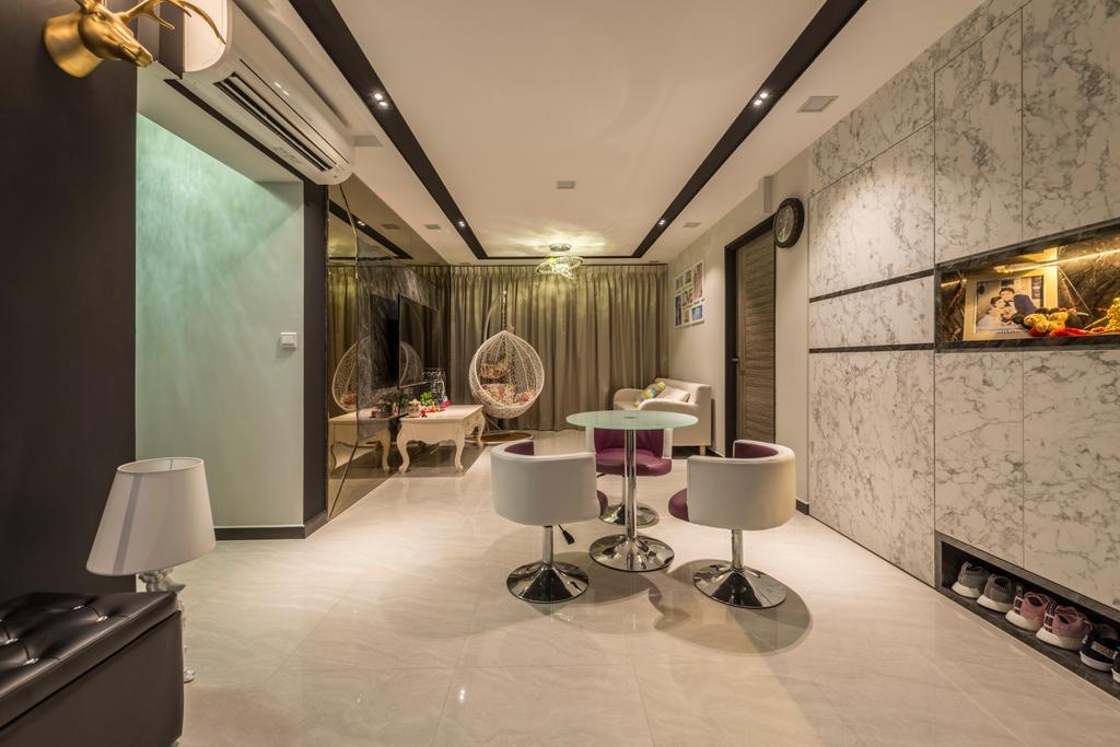 Contemporary, HDB, Living Room, Upper Serangoon Road, Interior Designer, Third Paragraph