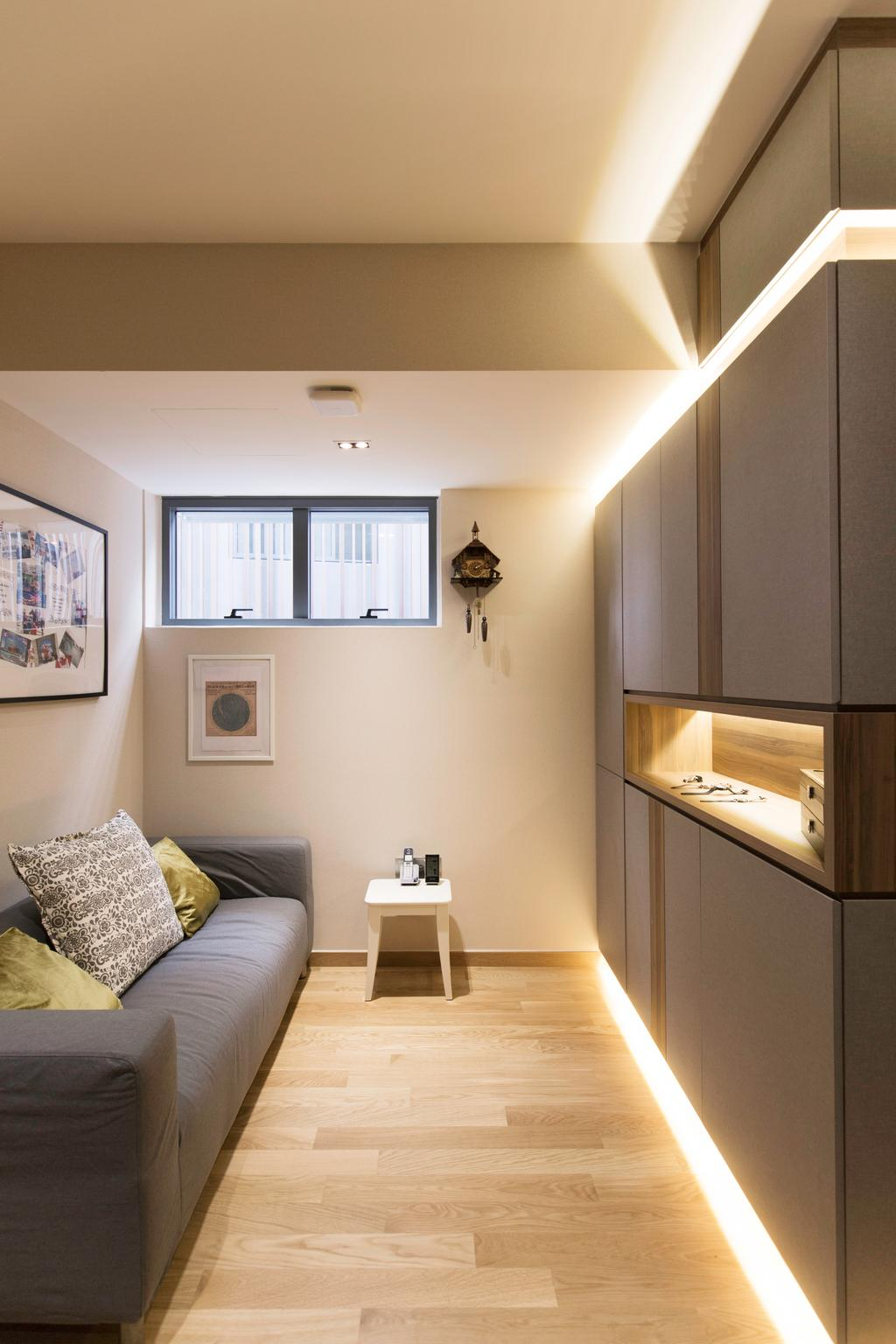Contemporary, Landed, Living Room, Wak Hassan Drive, Interior Designer, U-Home Interior Design