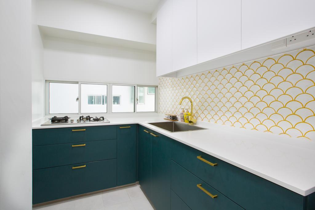 Contemporary, HDB, Kitchen, Ang Mo Kio Street 52, Interior Designer, Meter Square, Scandinavian