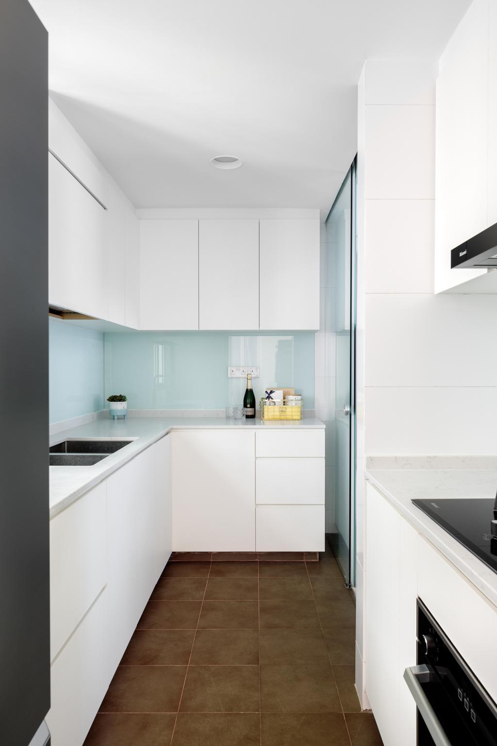 Contemporary, Condo, Kitchen, The Calrose, Interior Designer, Anhans Interior Design