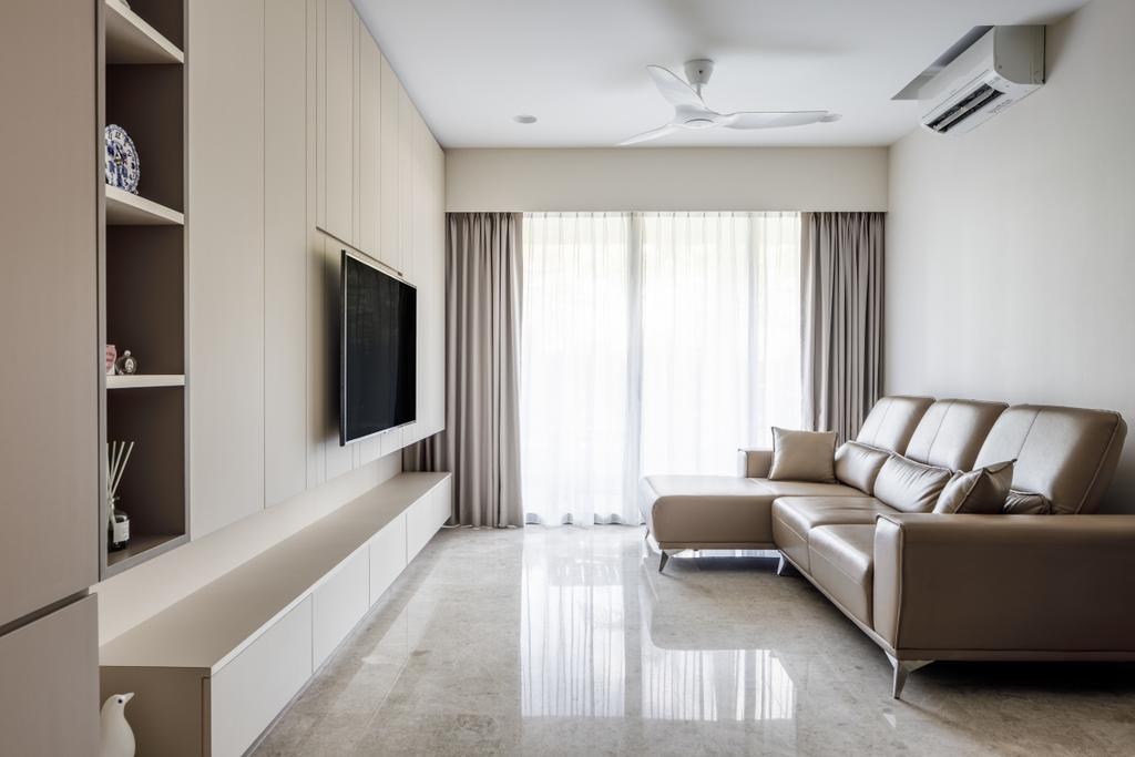 Contemporary, Condo, Living Room, The Calrose, Interior Designer, Anhans Interior Design