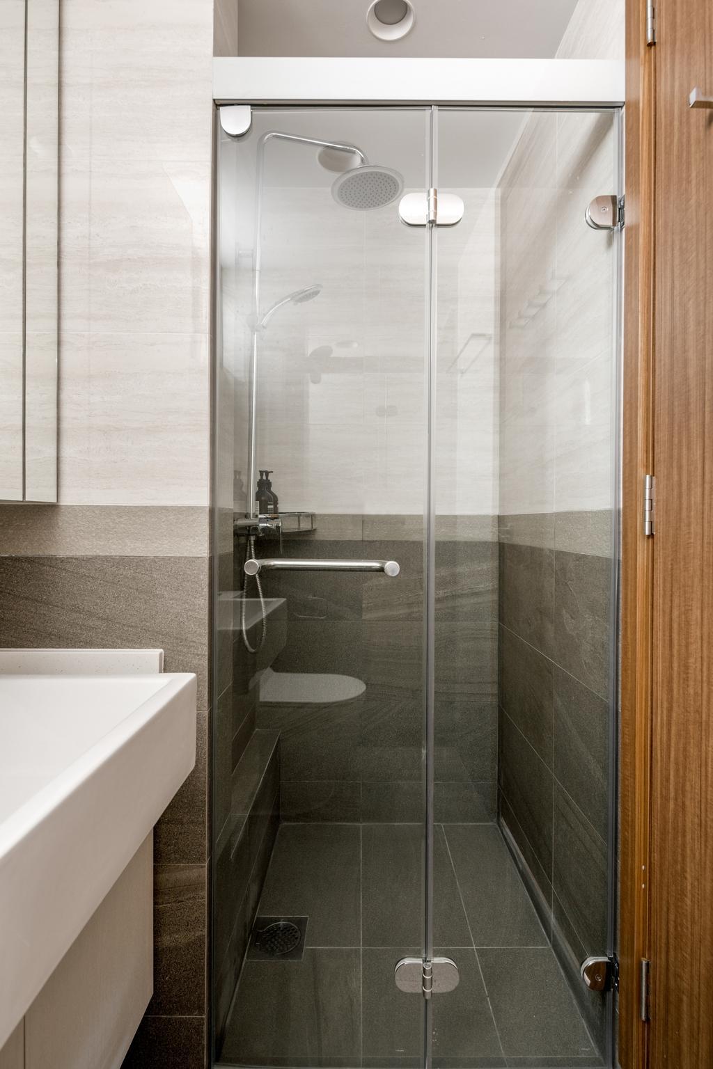 Contemporary, Condo, Bathroom, The Calrose, Interior Designer, Anhans Interior Design