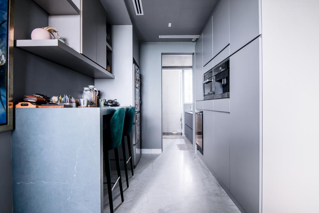 Contemporary, Condo, Kitchen, East Coast Road, Interior Designer, PHD Posh Home Design, Modern