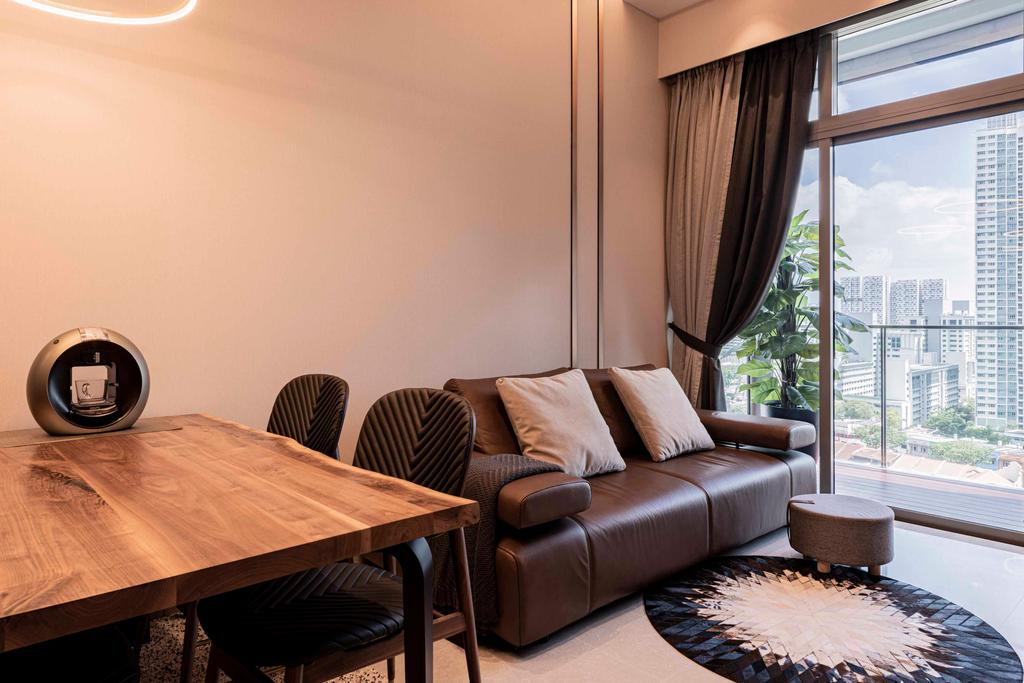Modern, HDB, Living Room, Sturdee Residences, Interior Designer, erstudio, Contemporary