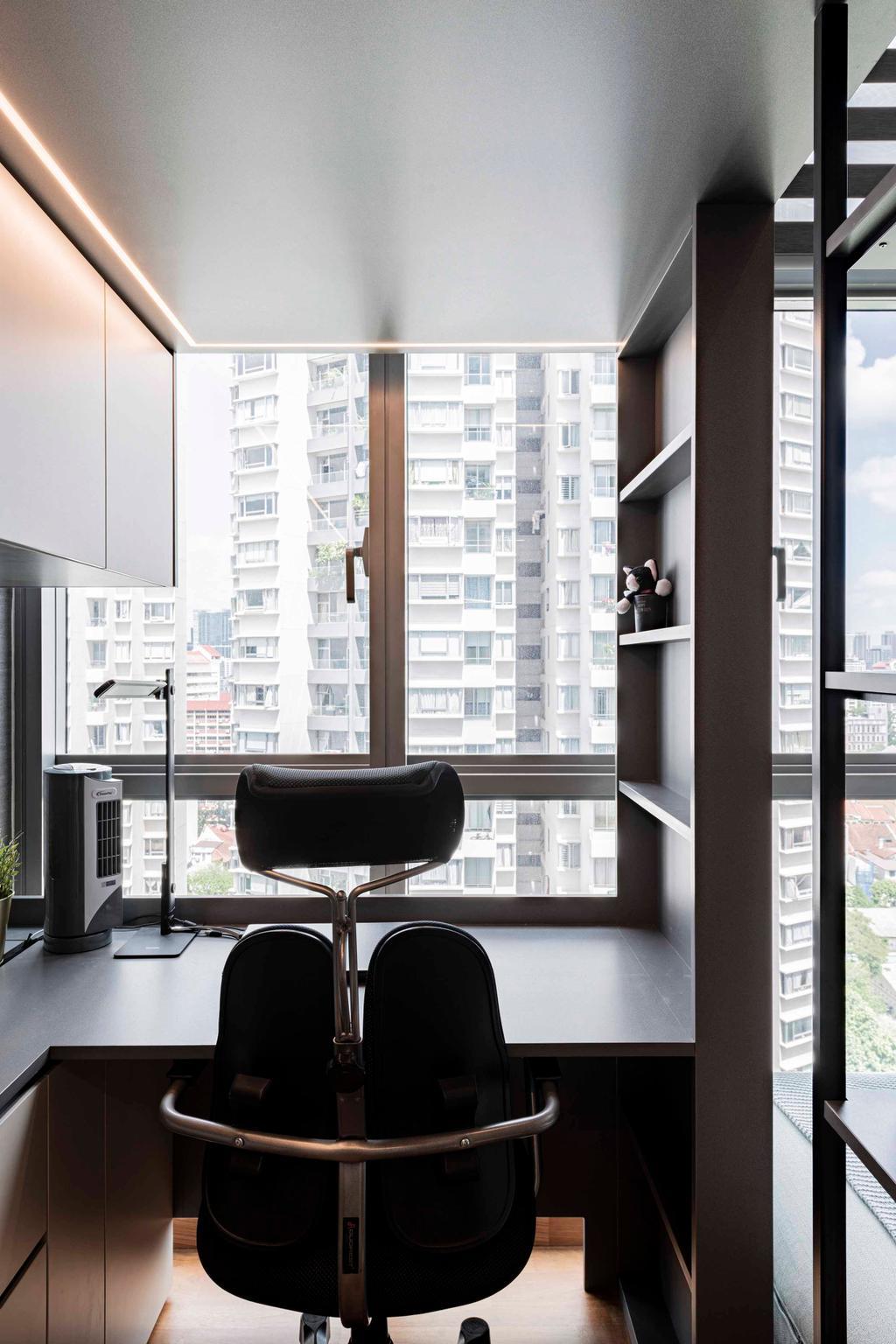 Modern, HDB, Study, Sturdee Residences, Interior Designer, erstudio, Contemporary