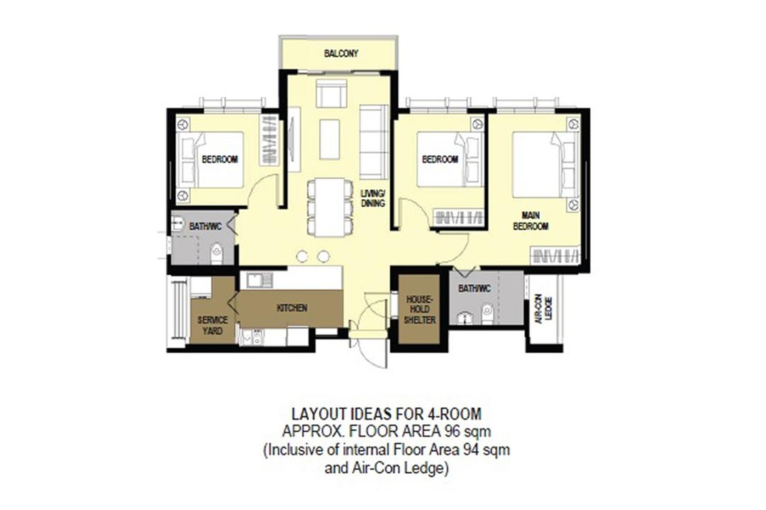 Alkaff LakeView CourtView BTO HDB